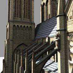 Madcap Model Maker Builds The Notre Dame Cathedral Using