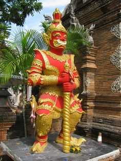 Wat Lok Moli . Chiang Mai Thailand