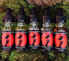 Raven's Moon Premium E-liquid #eliquid #ejuice #ravensmoonliquid