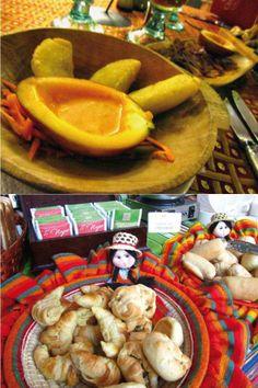 Comidas, colores y arte del Ecuador. Flavors, colors and art from Ecuador.  @Hotel Patio Andaluz