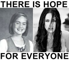 Megan Fox before and after still luv her though