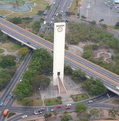 Vista aérea del Obelisco de Barquisimeto - Capital Musical de Venezuela