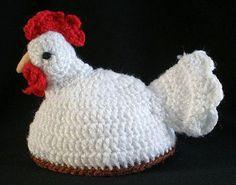 Crochet Rooster Potholder Patterns