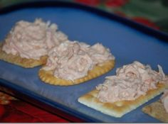 I love crab dip but when my 3 sons were growing up I couldn't afford crab.  In fact, the only crab in the house was ME!  I got this recipe from a friend years ago.  I believe I ate the entire bowl in one sitting.  The imitation crab is just a white fish that you can find packaged in the fish section of the grocers. It's already packaged.  Looks like crab,too.This would be a great appetizer to serve while you're finishing up with your Easter Dinner preparations.