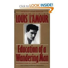 Louis L'Amour's autobiography of his early years riding the rails and hitchhiking across America in the twenties and thirties with a running commentary on the books he was reading at the time. Great adventure.