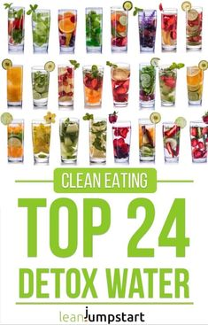 detox water: 24 clean, flavored recipes that boost your metabolism (flavored water recipes fat burning) Infused Water Recipes, Fruit Infused Water, Juice Recipes, Diet Recipes, Infused Waters, Water Infusion Recipes, Grilling Recipes, Smoothie Recipes, Healthy Detox