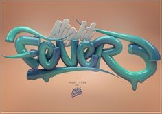 /// Typography 3D - 3 /// on Behance #3D #design #typography