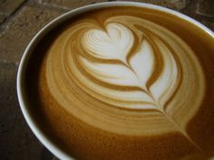 latte art... I will learn and then my breakfast will never be the same again; Bible that!