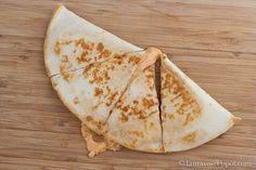 Just Like Taco Bell- Chicken Quesadillas!