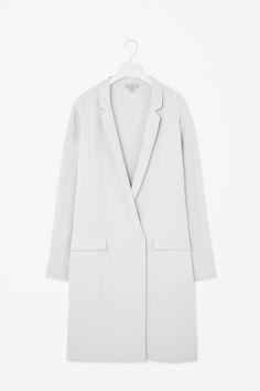 Long silk jacket