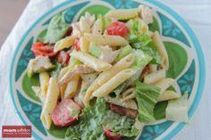 Chicken Caesar Pasta Salad - The Motherload