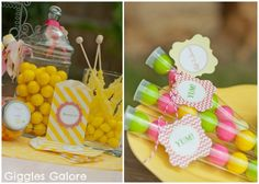 Celebrate summer with a Lemonade Stand Party and Giggles Galore DIY Lemonade Stand Kits