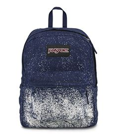 Jansport Special Edition Superbreak Blue Denim Sparkle Celestial Backpack…