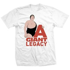 Andre The Giant T-shirts Licensed By Andre's Family - A Giant Legacy T-shirt Andre The Giant, Mens Tops, T Shirt, Women, Fashion, Supreme T Shirt, Moda, Tee, Women's