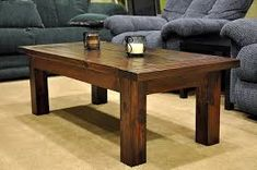 Diy coffee table plans Wooden coffee tables and diy furniture Coffee Table From our Of course we HAD to put together coffee table plans Diy Coffee Table Plans, Simple Coffee Table, Solid Wood Coffee Table, Rustic Coffee Tables, Coffee Table Design, Coffe Table, Easy Coffee, Design Table, Table Designs