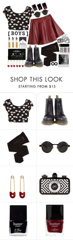 """Boys"" by undercover-martyn ❤ liked on Polyvore featuring Dr. Martens, Trasparenze, Kristin Cavallari, BOBBY, Butter London and Columbia"