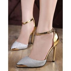 Complete your stylish and sexy look with Ericdress women pumps. Choose from Pumps Heels, Peep Toe Pumps, Wedge Pumps and other well pumps. Pumps Shoes are in great demand now. Platform High Heels, High Heels Stilettos, Stiletto Heels, Women's Pumps, Lace Up Heels, Ankle Strap Heels, Ankle Straps, Zapatos Shoes, Shoes Heels