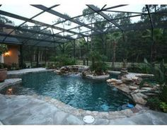 Awesome saltwater pool!