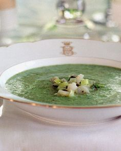 Watercress and Ramp Soup...all time favorite!!!!