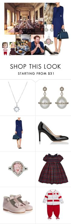 """Having lunch and exchanging Christmas Presents with the rest of the RF"" by duchess-rebecca ❤ liked on Polyvore featuring Cathy Waterman, Jil Sander, L.K.Bennett, Diana M. Jewels and M94428"