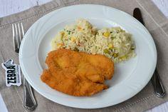 Pui crispy cu legume si orez Grains, Rice, Meat, Chicken, Food, Essen, Meals, Seeds, Yemek