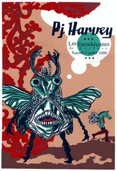 newburycomics.com - PJ Harvey-Poster by BongoutPosters