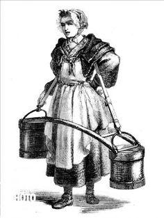 309 best ira yeager paintings images 18th century 18th century 18th Century Royal Navy Uniform paris porteuse d eau les cris de paris la porteuse d eau dessin de mouilleron d apr s poisson 1774 rv 309761