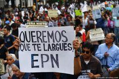 Al ritmo de Juan Gabriel, mexicanos piden renuncia del presidente