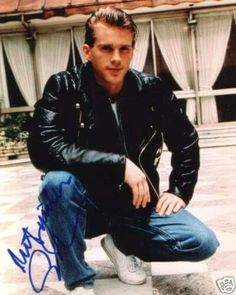 Cary Elwes Photoshoot In 1987