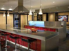 Funktionale Küchen Inseln   Kochen, Servieren Und Genießen Sie Dabei!