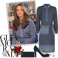 Style Kate Middleton :) by abcde-979 on Polyvore featuring Jaeger, Nearly Natural, katemiddleton, duchessofcambridge and KateMiddletonpregnant