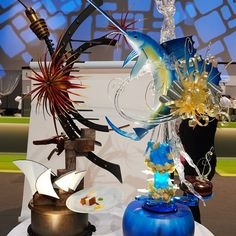 Australia's Chocolate and Sugar sculptures from the Pastry World Cup 2013.