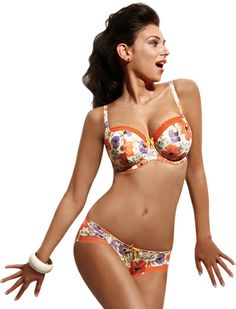 9a038412bce89 You ll love the Panache Cleo Poppy Balconnet Bra in all its festive colors!  -Linda the Bra Lady