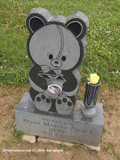 TFS Tombstone Photo- The Bryan Huff Marker (1/2) at the SS Peter  Paul Cemetery, Cincinnati, Ohio (c) The Funeral Source, photo: Ken Naegele