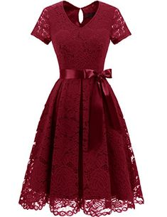 online shopping for DRESSTELLS Women's Elegant Bridesmaid Dress Floral Lace Dresses With Short Sleeves from top store. See new offer for DRESSTELLS Women's Elegant Bridesmaid Dress Floral Lace Dresses With Short Sleeves Very Short Dress, Short Lace Dress, Floral Lace Dress, Short Sleeve Dresses, Short Sleeves, Plus Size Maxi Dresses, Lace Dresses, Floral Dresses, Elegant Bridesmaid Dresses