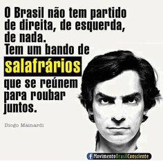 O Brasil não tem partido!!!!
