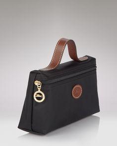 Longchamp Le Pliage Medium Cosmetics Case | Bloomingdale's