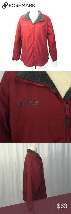"Women's Columbia Coat Size L - Zipper Closure - 2-Zipper Pockets - 100% Nylon w/ Fleece Lining. One Layer. Bust 46"" - Length 26"" - Sleeves 25"" - Shoulder to Shoulder 19.25"" - Waist 42"" Columbia Jackets & Coats"