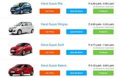 Maruti Suzuki Car Models, Car Dealers, Suzuki Swift, All Cars, Showroom, India, Search, Goa India, Searching