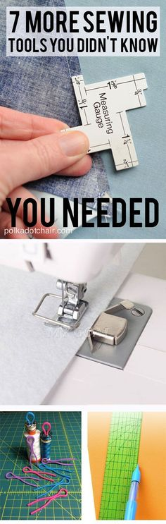 7 MORE Sewing Tools & Gadgets that you didn't know you needed