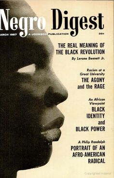 Negro Digest, March 1967