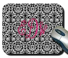 $12.00 Personalized mouse pad, great for Teachers, bosses or Secretary, Stitcheroos