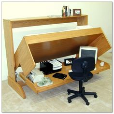unique diy computer desk design