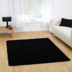 A thick pile shaggy plain rug is what defines this Nordic Navision Cariboo Black Rug. It is made from heatset polypropylene and is hard wearing. Shaggy Rug, Machine Made Rugs, Black Rug, Modern Rugs, Trendy, Dream Life, Design, Home Decor, Products