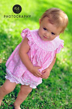 9a2d6df4431b9 Pink Polka Dot Bloomer Set from Smocked Auctions Miss Priss, Spice Girls,  Pink Polka