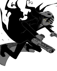Death the Kid by ~vespersong Soul Eater...my very first anime crush... Ily boo:*