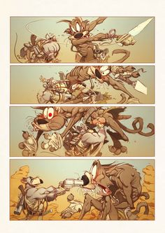 Page comic. by Oscar Martin | Illustration | 2D | CGSociety