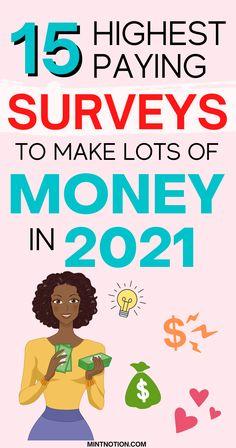 Best Paid Online Surveys, Legit Paid Surveys, Surveys That Pay Cash, Survey Websites, Best Survey Sites, Earn Extra Cash, Extra Money, Way To Make Money, Make Money Online
