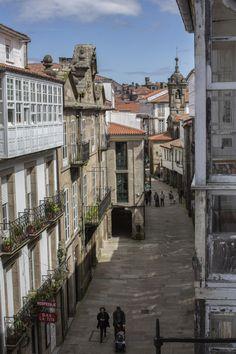 Rúa Nova. Santiago de Compostela