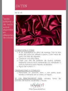 El dossier de las telas Skarlett Textiles Sketchbook, Fashion Dictionary, Fashion Vocabulary, Textile Texture, Silk Ribbon Embroidery, Fashion Fabric, Couture, Sewing Hacks, Diy Clothes